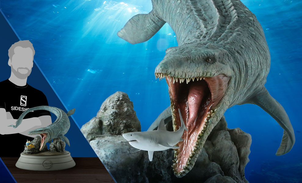Gallery Feature Image of Mosasaurus Statue - Click to open image gallery