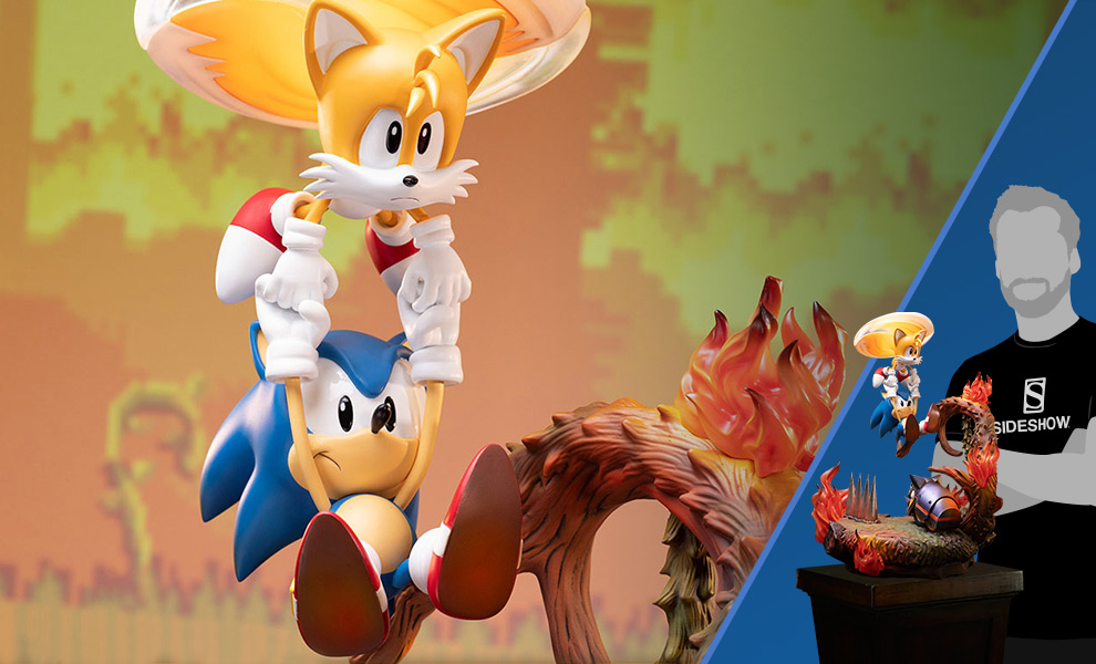 Gallery Feature Image of Sonic and Tails Statue - Click to open image gallery