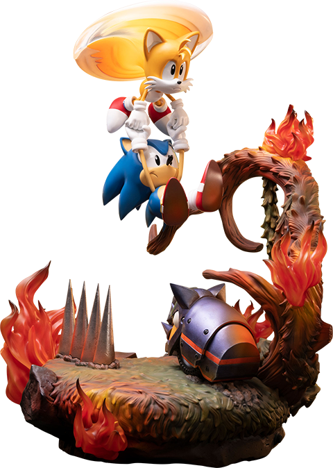 Sonic And Tails Statue Sideshow Collectibles