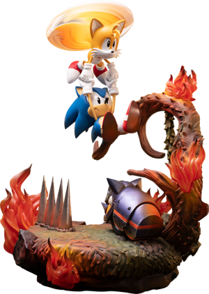Sonic and Tails Statue