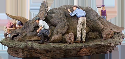 Iron Studios Triceratops Deluxe 1:10 Scale Statue