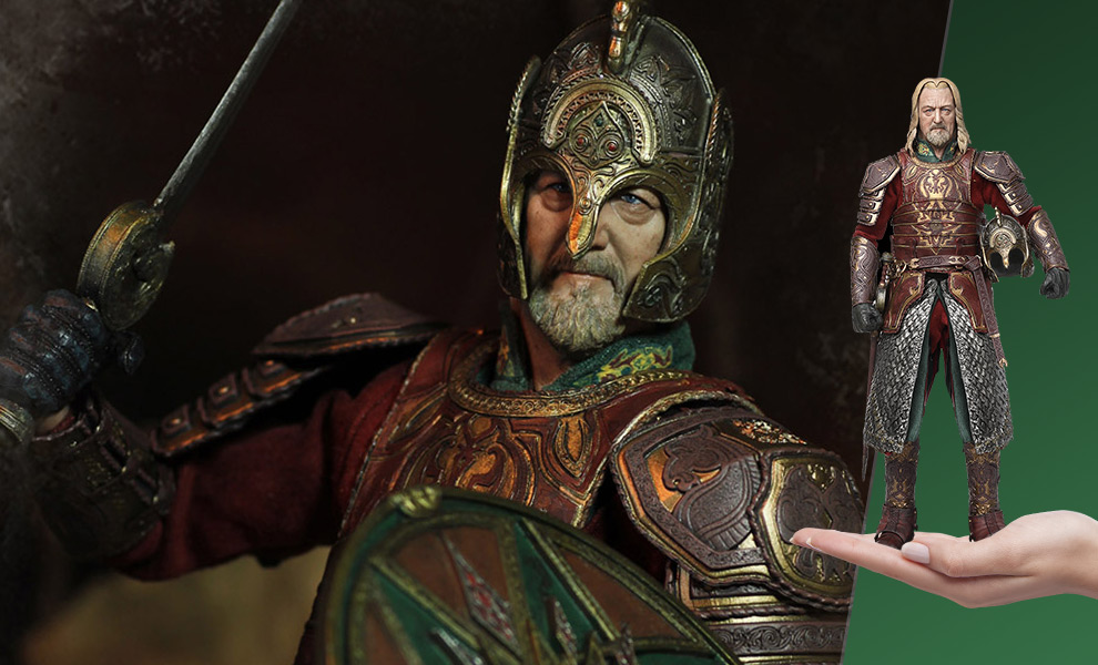 Gallery Feature Image of Théoden Sixth Scale Figure - Click to open image gallery