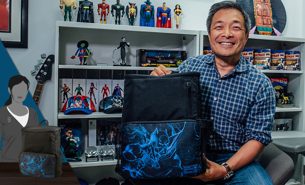 Gallery Feature Image of HEX x Jim Lee (Limited Edition) Collector's Backpack Apparel - Click to open image gallery