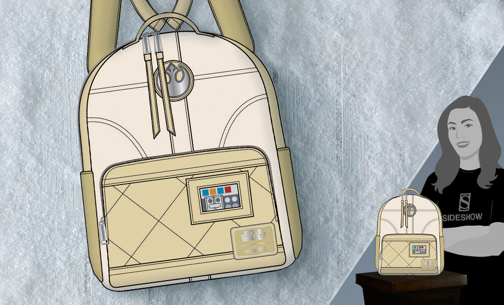 Gallery Feature Image of Hoth Leia Mini Backpack Apparel - Click to open image gallery