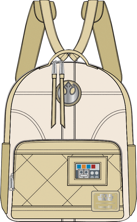 Loungefly Hoth Leia Mini Backpack Apparel