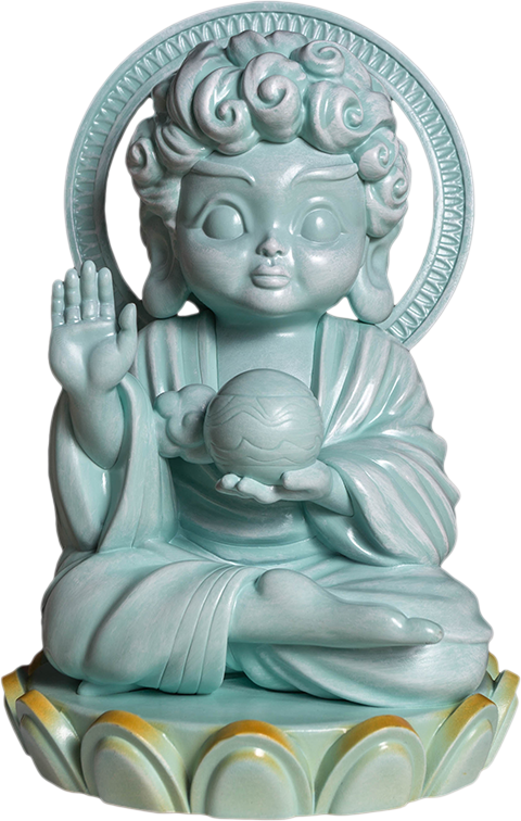 Mighty Jaxx Hambuddha (Celadon) Vinyl Collectible