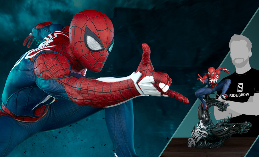 Gallery Feature Image of Spider-Man Advanced Suit Statue - Click to open image gallery