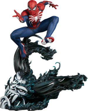 Spider-Man Advanced Suit Statue