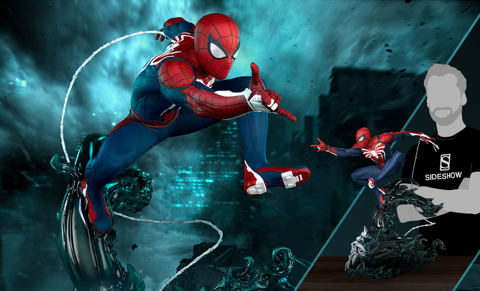 Gallery Feature Image of Spider-Man Advanced Suit 1:3 Scale Statue - Click to open image gallery