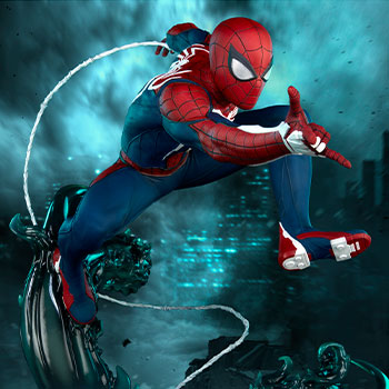 Spider-Man Advanced Suit Marvel Statue