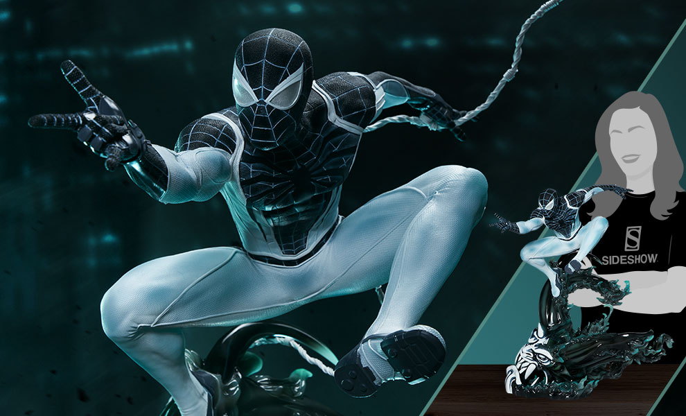 Gallery Feature Image of Spider-Man Negative Zone Suit Statue - Click to open image gallery
