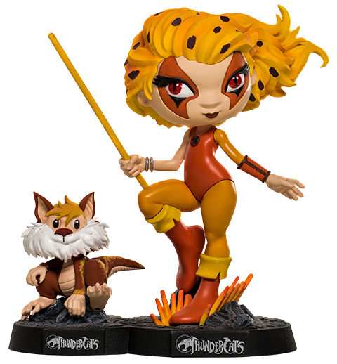 Iron Studios Cheetara and Snarf Mini Co. Collectible Figure