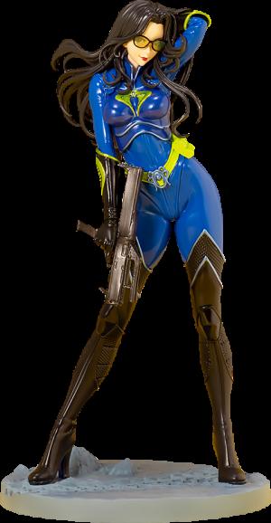Baroness (25th Anniversary Blue Color) Statue