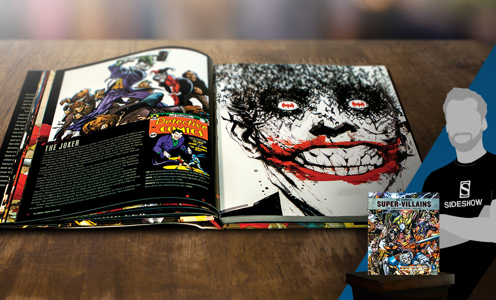 Gallery Feature Image of DC Comics: Super-Villains: The Complete Visual History Book - Click to open image gallery