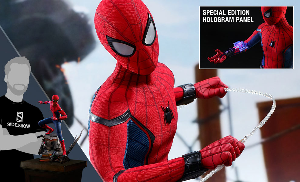 Gallery Feature Image of Spider-Man (Special Edition) Quarter Scale Figure - Click to open image gallery