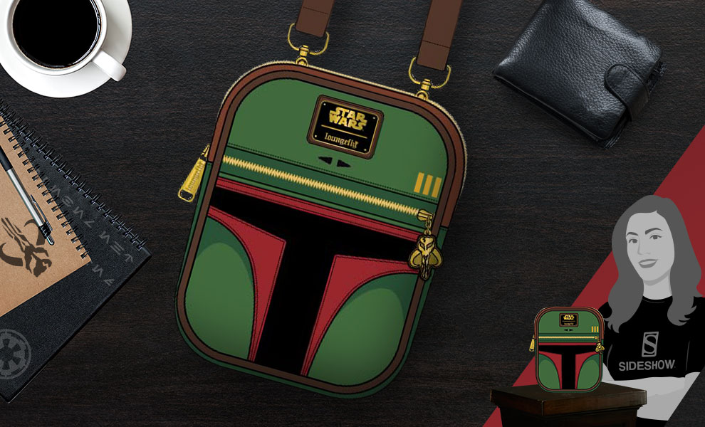 Gallery Feature Image of Boba Fett Crossbody Apparel - Click to open image gallery