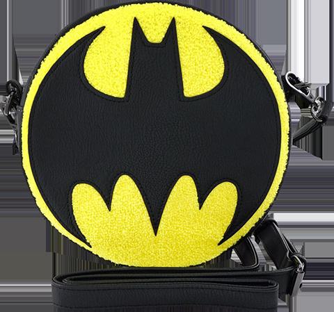 Loungefly Bat Signal Crossbody Apparel
