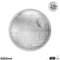 Gallery Image of Death Star Silver Coin Silver Collectible