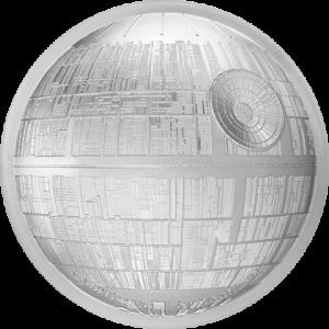 Death Star Silver Coin Silver Collectible