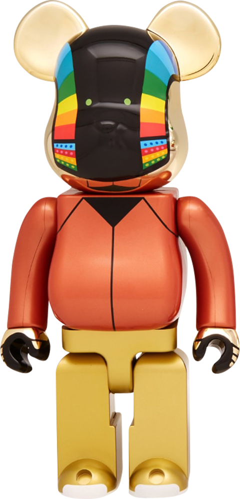Medicom Toy Be@rbrick Daft Punk: Guy-Manuel de Homem-Christo 1000% (Discovery Version) Figure