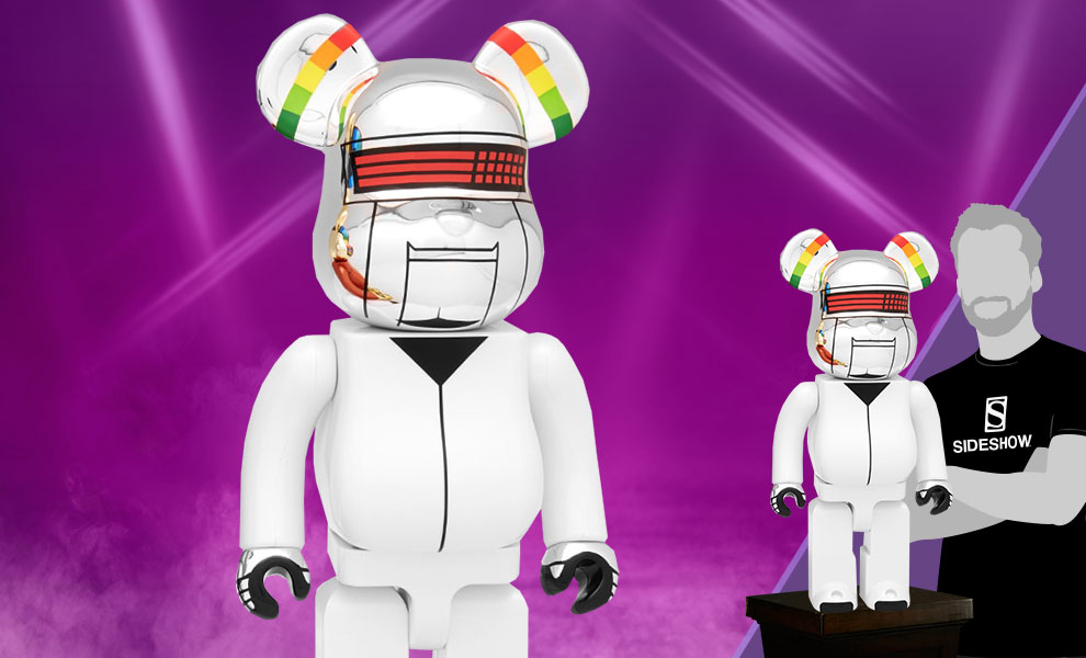 Gallery Feature Image of Be@rbrick Daft Punk: Thomas Bangalter 1000% (Discovery Version) Figure - Click to open image gallery