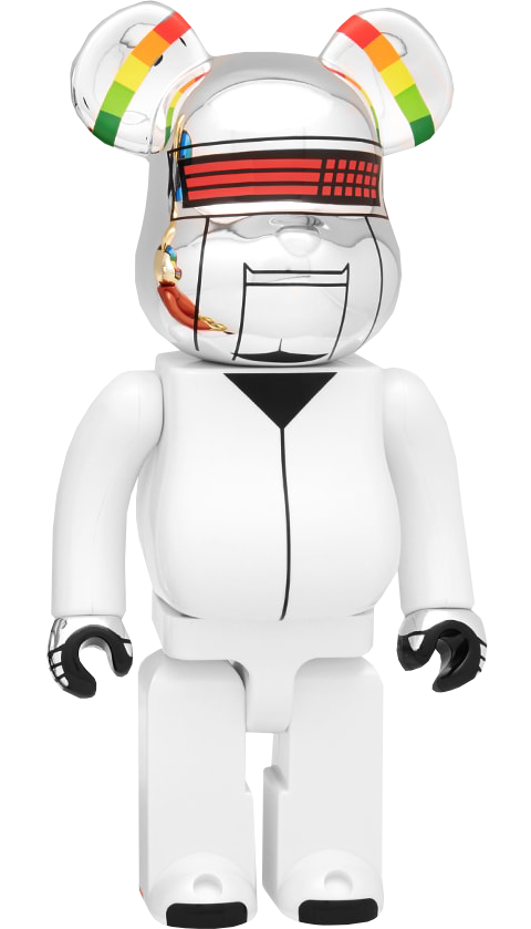Medicom Toy Be@rbrick Daft Punk: Thomas Bangalter 1000% (Discovery Version) Figure