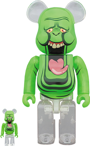 Be@rbrick Slimer (Green Ghost) 100% and 400% Collectible Set