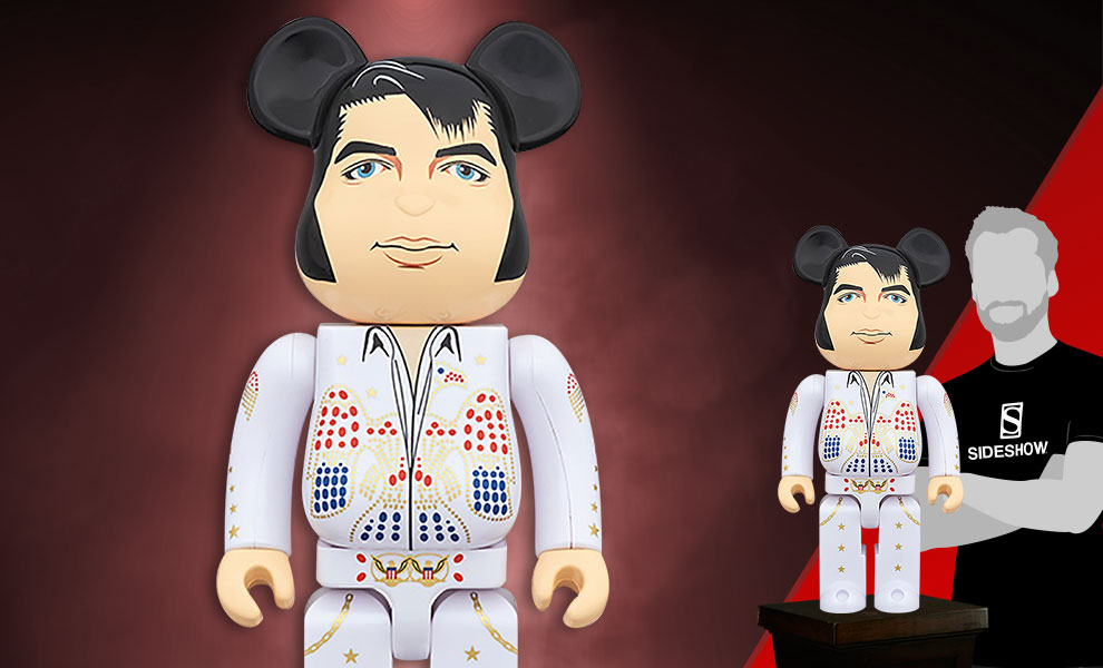 Gallery Feature Image of Be@rbrick Elvis Presley 1000% Figure - Click to open image gallery