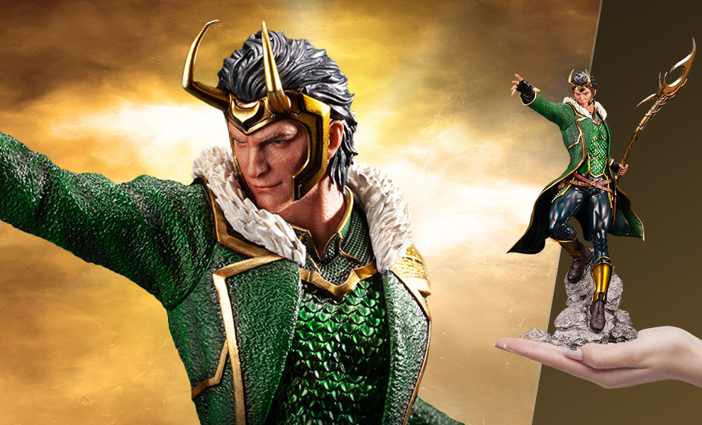 Gallery Feature Image of Loki Statue - Click to open image gallery