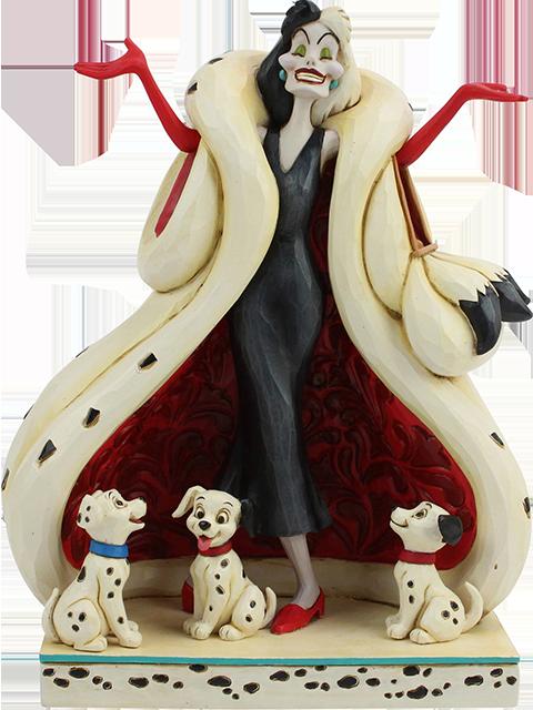 Enesco, LLC Cruella De Vil Figurine