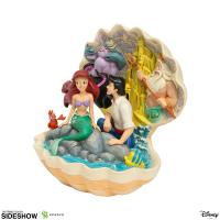 Gallery Image of The Little Mermaid Shell Scene Figurine