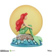 Gallery Image of Ariel Sitting on Rock by Moon Figurine