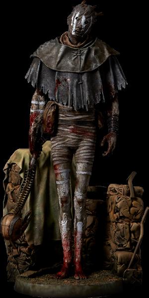 The Wraith Statue