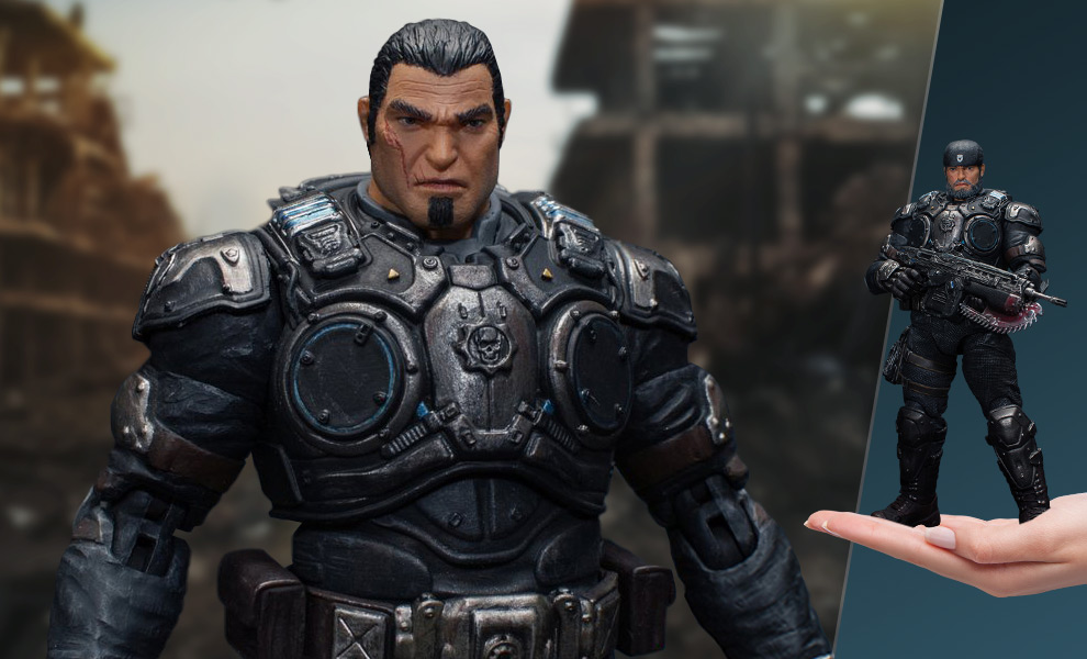 The Marcus Fenix 1 12 Action Figure