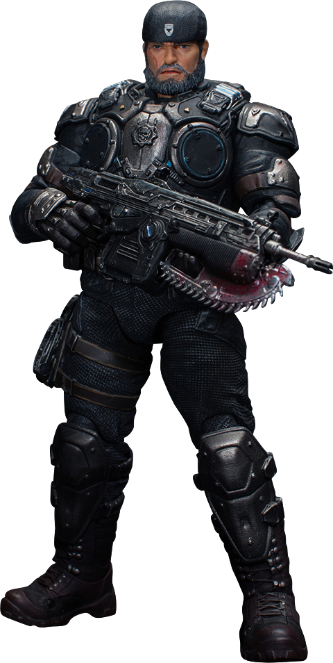 Storm Collectibles Marcus Fenix Collectible Figure