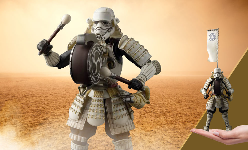 Gallery Feature Image of Taikoyaku Stormtrooper Collectible Figure - Click to open image gallery