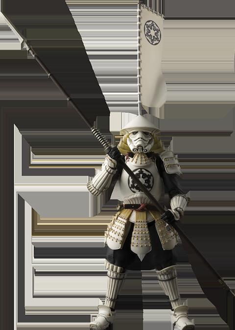 Bandai Yari Ashigaru Stormtrooper Collectible Figure