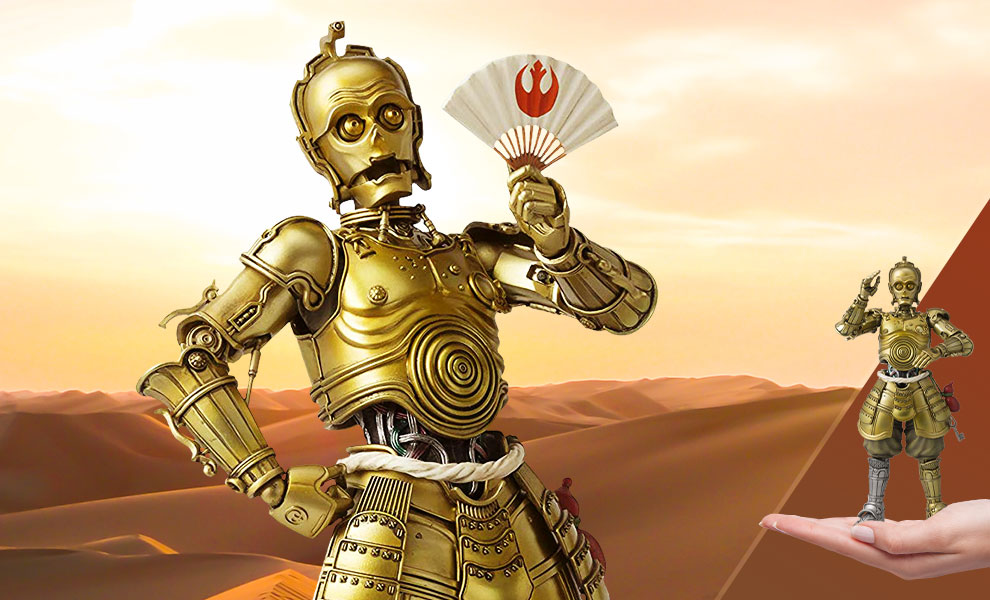 Gallery Feature Image of Honyaku Karakuri C-3PO Collectible Figure - Click to open image gallery