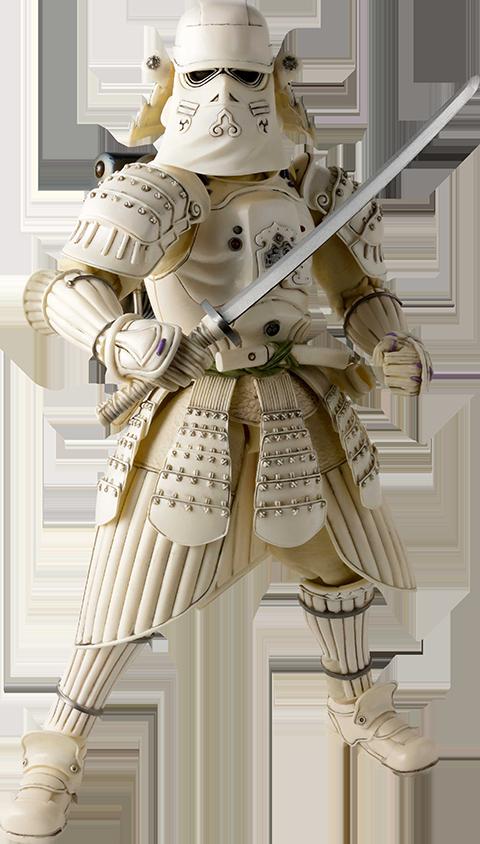 Bandai Kanreichi Ashigaru Snowtrooper Collectible Figure