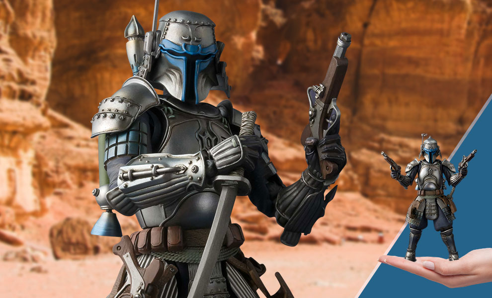 Gallery Feature Image of Ronin Jango Fett Collectible Figure - Click to open image gallery