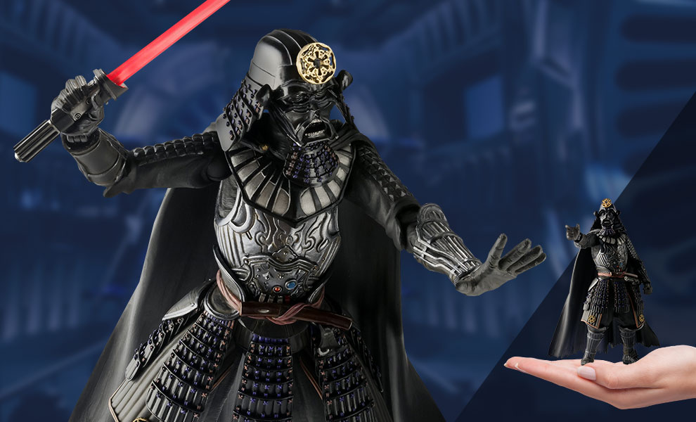 Gallery Feature Image of Samurai General Darth Vader Collectible Figure - Click to open image gallery