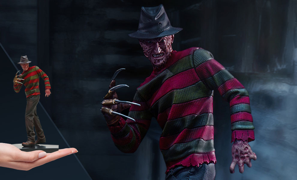 Gallery Feature Image of Freddy Krueger 1:10 Scale Statue - Click to open image gallery