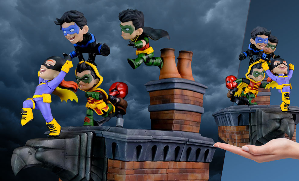Gallery Feature Image of Batman Family Knight Out Q-Master Diorama - Click to open image gallery