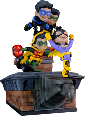 Batman Family Knight Out Q-Master Diorama