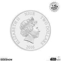 Gallery Image of Princess Leia Organa Silver Coin Silver Collectible