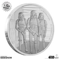 Gallery Image of Stormtrooper Silver Coin Silver Collectible