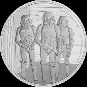 Stormtrooper Silver Coin Silver Collectible