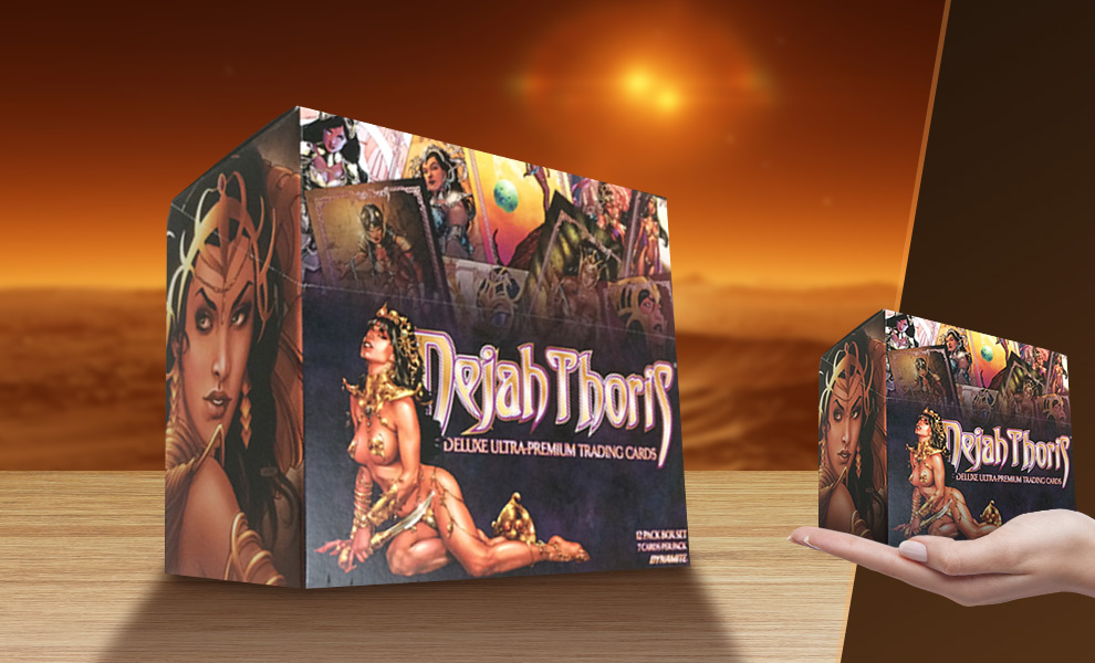 Gallery Feature Image of Dejah Thoris Ultra Premium Trading Cards Collectible Set - Click to open image gallery