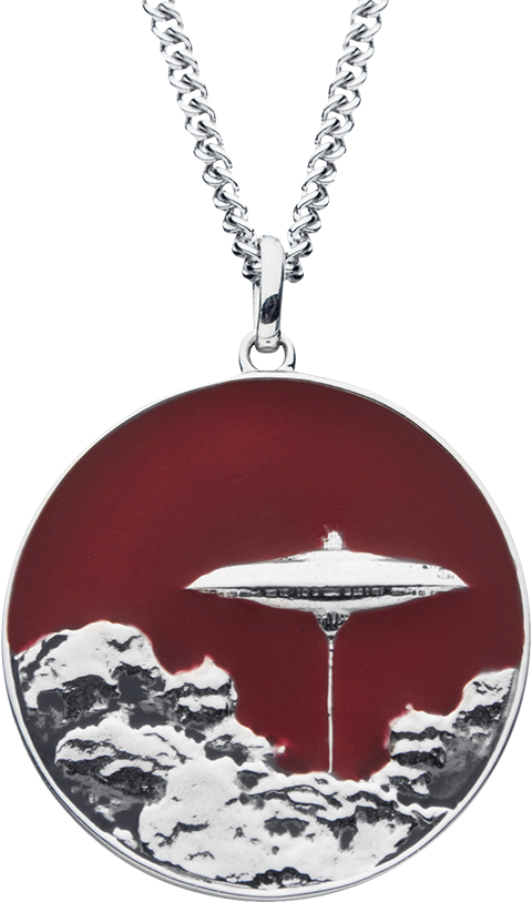 RockLove Cloud City Planetary Medallion Jewelry