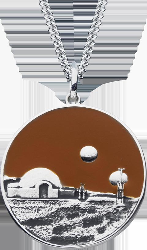RockLove Tatooine Planetary Medallion Jewelry